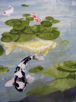 Koi Pond-Wall 3 by ShiningForceKaya