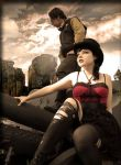 Steampunk Wasteland by PicturesqueMadness