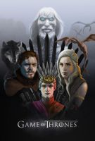 Game of Thrones poster entry by scuttered