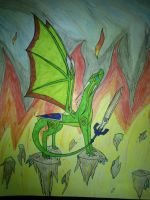 Fire, Poison, Wind, Earth by cynderplayer