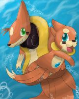 Request : Let's Swim Together! by IqbalPutra