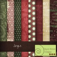 Jingle-paper street designs by paperstreetdesigns