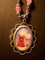 gumball necklace by Zephalynne
