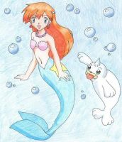 Misty Mermaid by carnahan