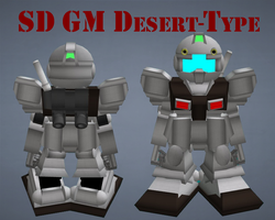 SD GM Desert Type by lordvipes