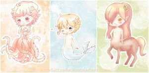 little creatures by ScarletLesile