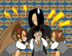 Fighting for Snape by IllusionEvenstar