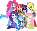 Vector - Right There In Front Of Me by SketchMCreations