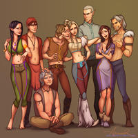 Nightwood's Family by ancalinar