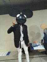 NYCC 2011: deadmau5 by murkrowzy