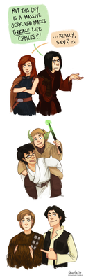 harry potter star wars AU - marauder era by shorelle