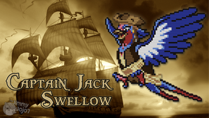Captain Jack Swellow (w/ Timelapse) by PkmnMc