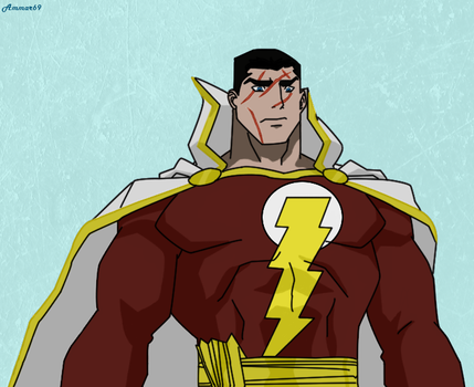 S.H.A.Z.A.M (Captain Thunder - Flashpoint) by Ammar69