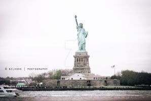 Statue of Liberty by faberryspork