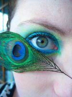 Blue n Green Eye 02 by ashy-stock