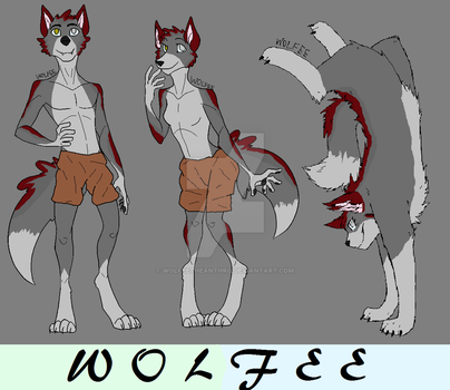 Wolfee The Wolf Anthro by WolfeeTheAnthro