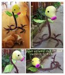 Life sized posable Bellsprout by scilk