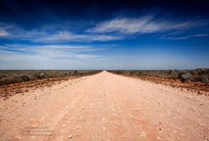 Road to Mungo by FireflyPhotosAust