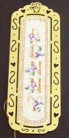 Embroidered Bookmark Bonny by Bonnzai