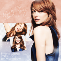 Emma Stone PNG PACK by flawlessjlaw