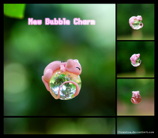Mew Bubble Charm by Choestoe