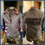 Sarah - Team America Jacket by bluetie
