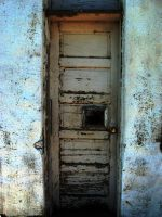 Decrepit Door II by ArtByASmith