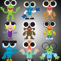 Muppet Cuties Series 1 by Gr8Gonzo