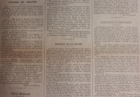 Old French Newspaper 1 by kirilee