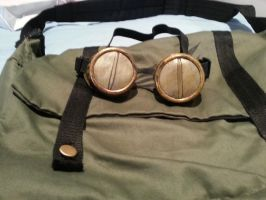Cosplay 2 - Syaoran's Goggles (Close up) by 6wendybird91