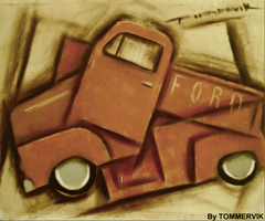 old  truck by TOMMERVIK