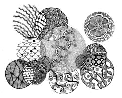 ZenTangle 17 by goldenspider