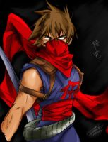 Strider Hiryu by KBladez