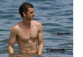 giant andrew garfield at sea by jokse345