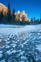 Frozen River by porbital