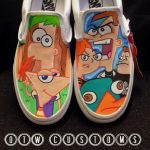 Phineas and Ferb Custom Vans by VeryBadThing