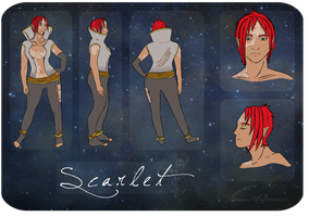 Scarlet Character Sheet by Idle-Emma