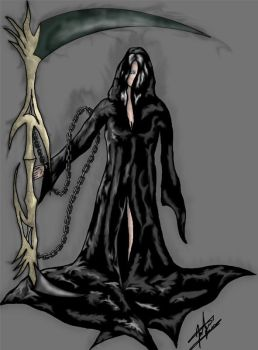 Embessa - Goddess of Death by the14thgod
