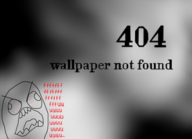 404 wallpapaer not found by Emiliewolf