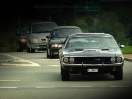 yeeha..a challenger is coming by AmericanMuscle