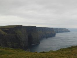 Cliffs of Moher by Work-Of-Dragons