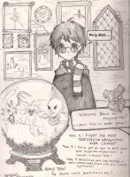 Harry Potter - Year Four by Ellphie