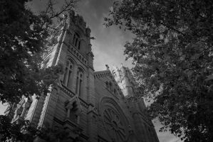 Cathedral of the Madeline by RogueMarine