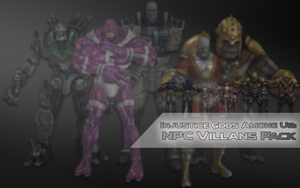 Injustice Gods Among Us Villan NPC Pack by XNASyndicate