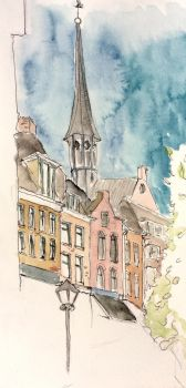 City centre of Utrecht by JettieHier