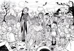 Ghosts Halloween Party by Leaf-19