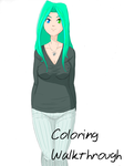 Coloring walkthrough by BellaCielo