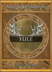 Yule Book Cover by EverildWolfden