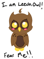 FEAR THE LEECH OWL! by SleeplesslyDreaming