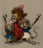 Brisby Family (Pt.2 Brisby boys) by LindZayWhimZay